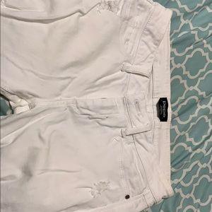 Size 28 white denim